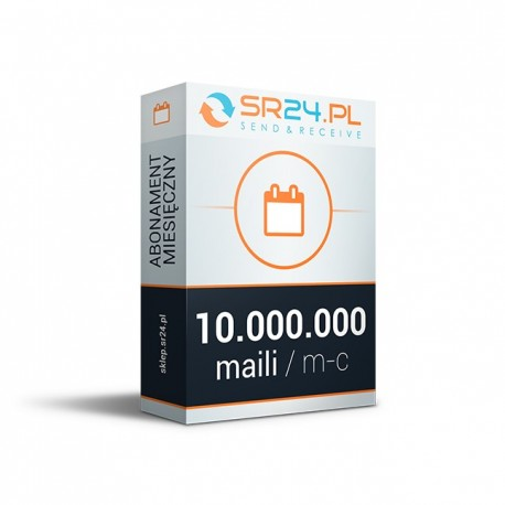System dedykowany - od 10.000.000 maili / m-c